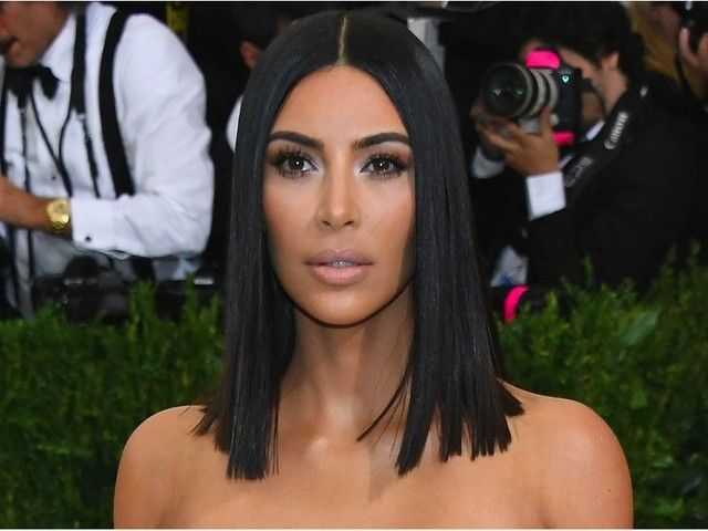 Kim Kardashian Shows Up Solo to the Met Gala While Kanye Kicks It in LA