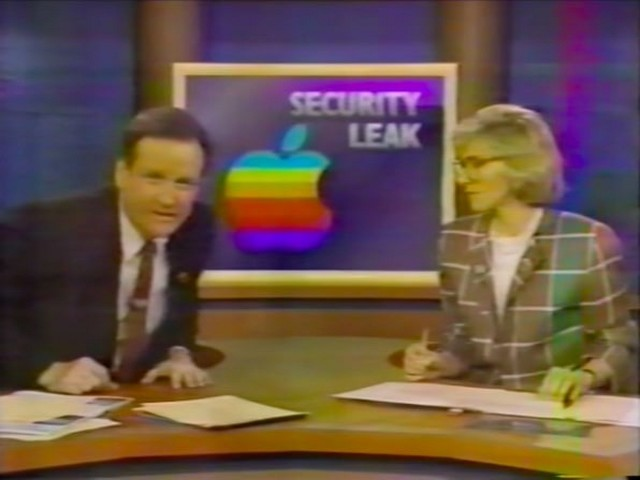 Unearthed TV News Clip Recounts One of Apple's Biggest Leaks of the Late 80s