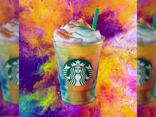 Starbucks' new Tie-Dye Frappuccino is yellow and gross