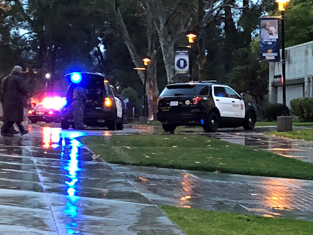 Lockdown lifted at College of the Canyons after deputies clear search of reportedly armed person