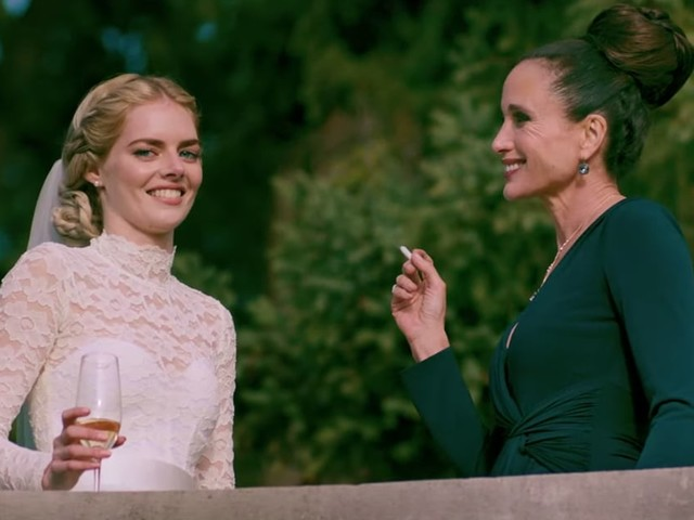 """Exclusive: Andie MacDowell Tells Samara Weaving to """"Stand Tall and F*ck 'Em"""" in Ready or Not Scene"""