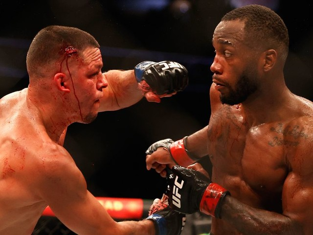 UFC 263 results:Leon Edwards survives late scare to earn decision over Nate Diaz