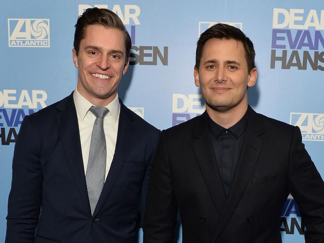 'Dear Evan Hansen' Opens in London, Composer Benj Pasek Walks Carpet with Boyfriend Kevin Sobieski!