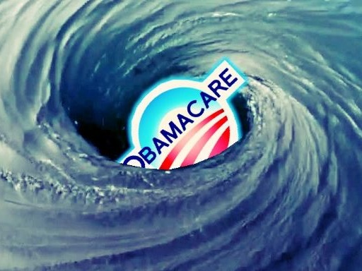 """It's A Crisis Situation"": One Chart Explains Why Obamacare Is Locked In An Inescapable Death Spiral"