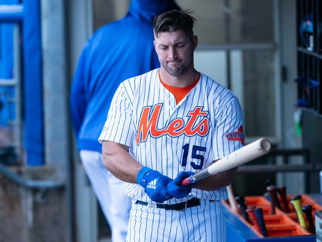 Report: Tim Tebow's minor-league season with the Mets is over due to injury