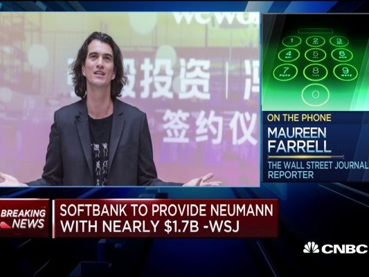 Most stunning part of Softbank's WeWork deal is Neumann's payout: WSJ reporter