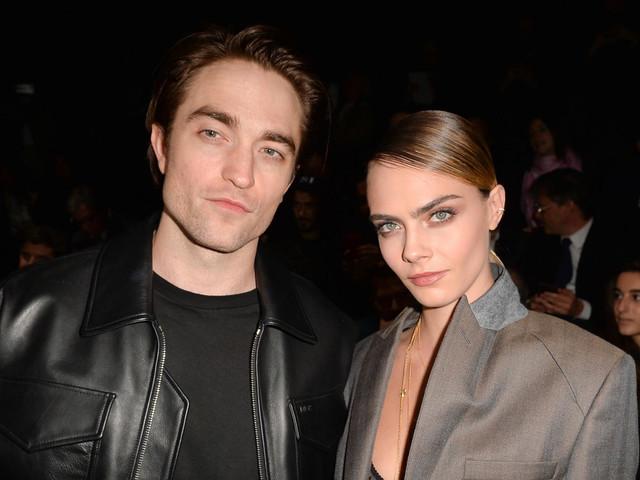 Robert Pattinson & Cara Delevingne Attend Dior Show Together!