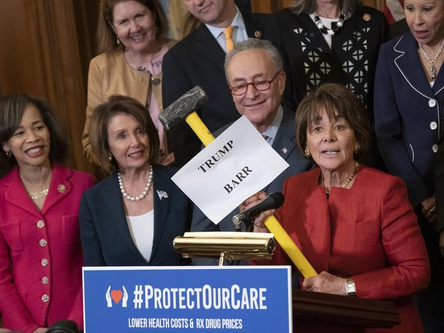The Latest: House Democrats OK bill boosting health care law