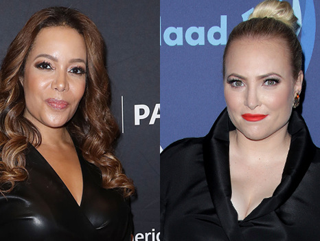 Sunny Hostin Goes Off On Meghan McCain In Fight On 'The View': 'You've Been Speaking A Lot'