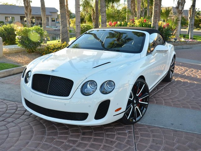 2012 Bentley Continental--Supersports