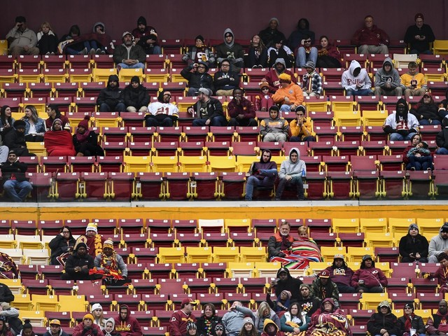 The Redskins say they've sold out every home game since 1967. The streak may end Sunday.