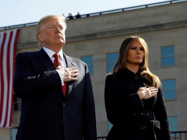 Melania Trump reportedly took a military plane to Florida, hours after Trump canceled Nancy Pelosi's flight because of the shutdown