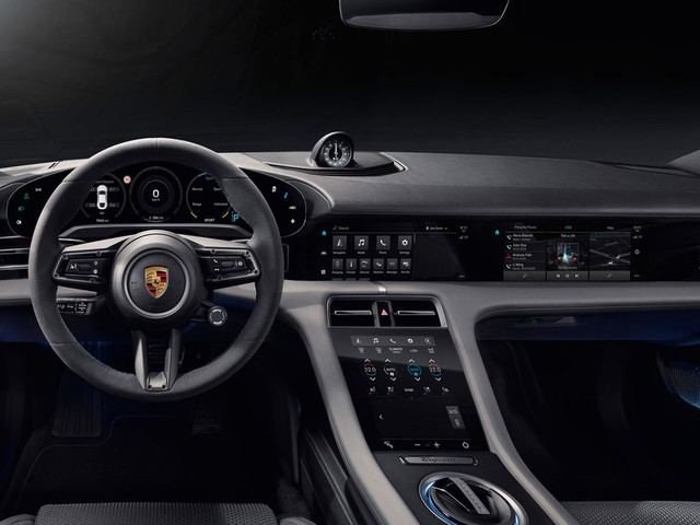 Porsche shows off the interior of its first EV ahead of September 4th reveal