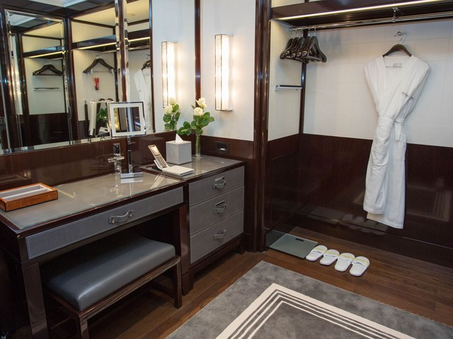 The world's most luxurious hotel closets