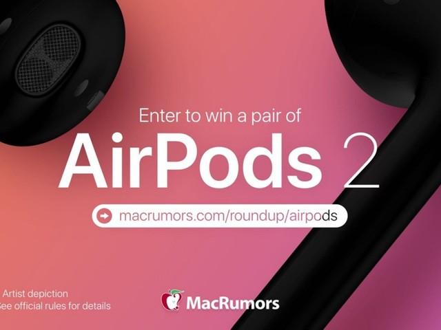 MacRumors Giveaway: Win a Pair of AirPods 2