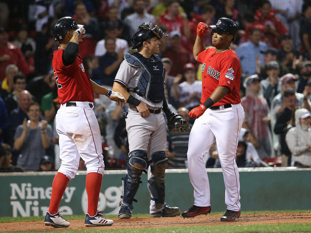 Boston's 7th Inning Rally Brings Yankees' Four-Game Win Streak To An End