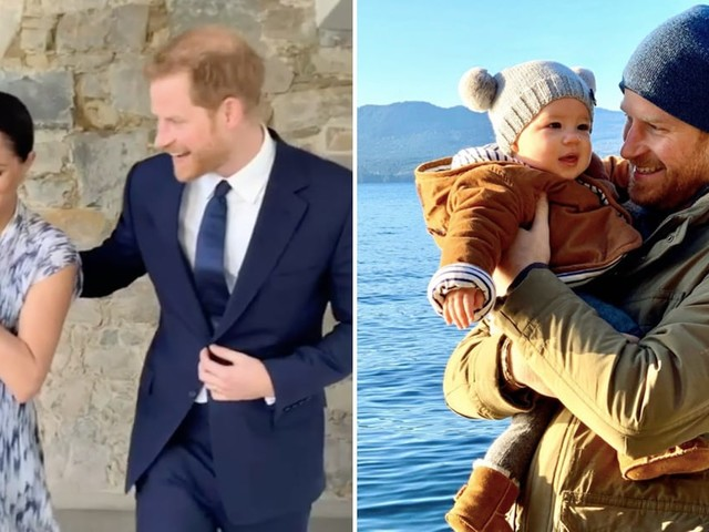 Prince Harry and Meghan Markle Share a Precious Photo of Archie as They Close Out 2019