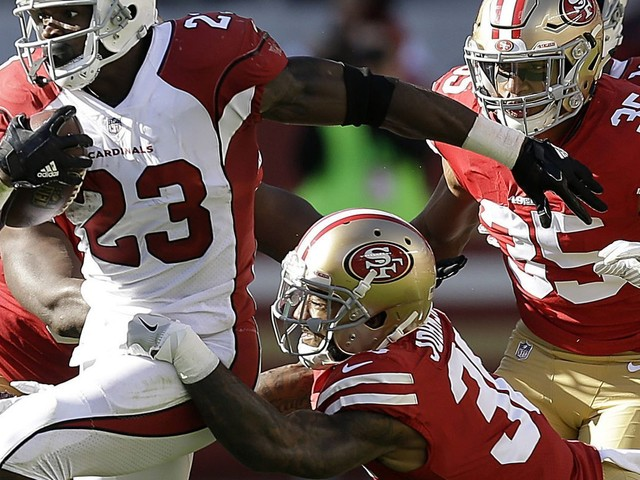 Cardinals' Adrian Peterson placed on injured reserve