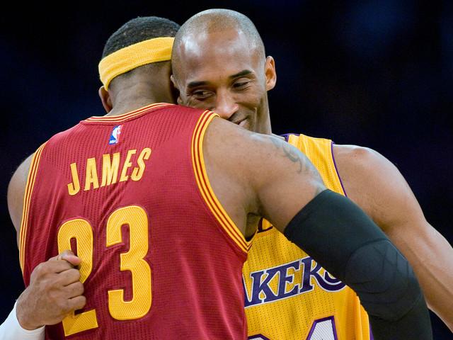 LeBron James in tears following death of Kobe Bryant