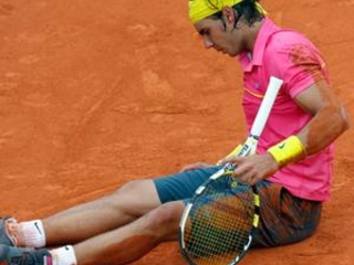 AP Was There: Nadal's 31-match French Open unbeaten run ends