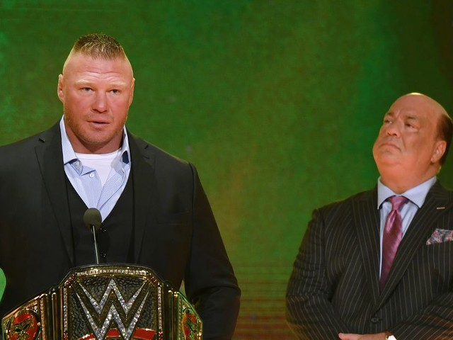 Video: Velasquez taps out to Lesnar kimura at WWE Crown Jewel