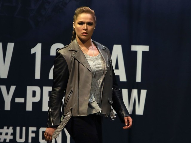 Ronda Rousey attends WWE shows, gets involved in angle with friend Shayna Baszler