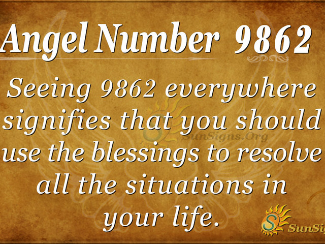 Angel Number 9862 Meaning – Calm Your Body And Mind And Feel The Universe