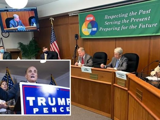 """Watch Live: Trump Tells PA Hearing """"Election Has To Be Turned Around"""""""