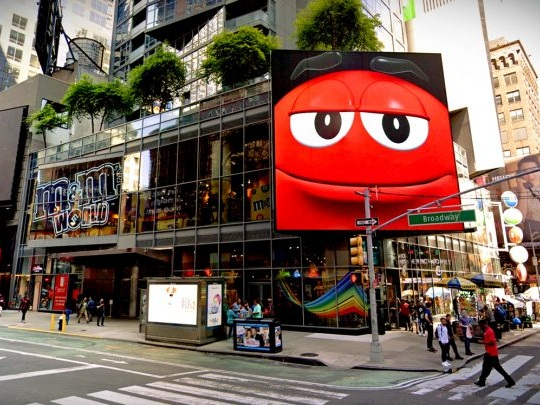 Home of M&M's Times Square store for sale, asking $200M