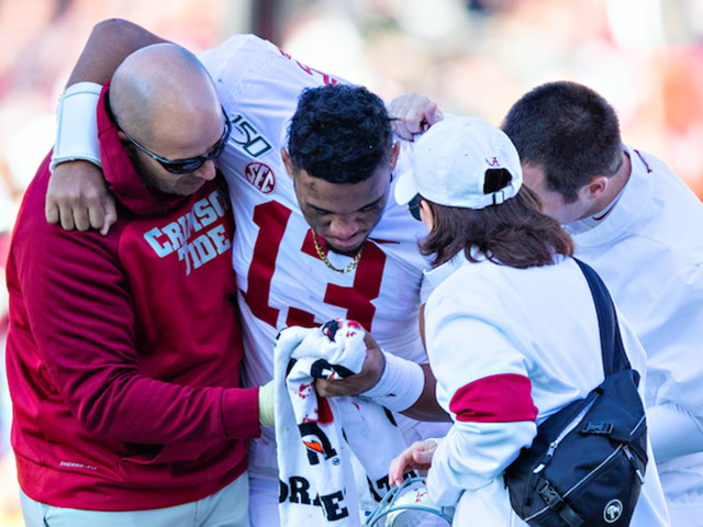 Tua Tagovailoa Reportedly Out for the Season With Hip Injury