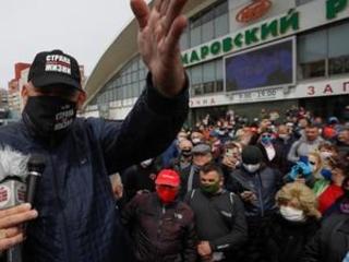 1,000 protest Belarusian president seeking another term