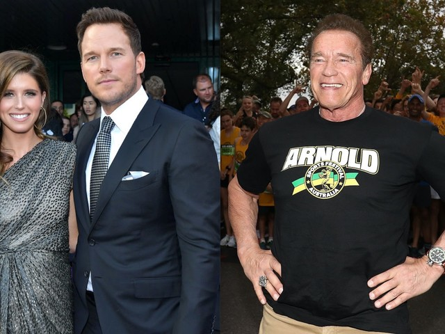 Chris Pratt Annoying Katherine Schwarzenegger With Questions About Her Dad Arnold?