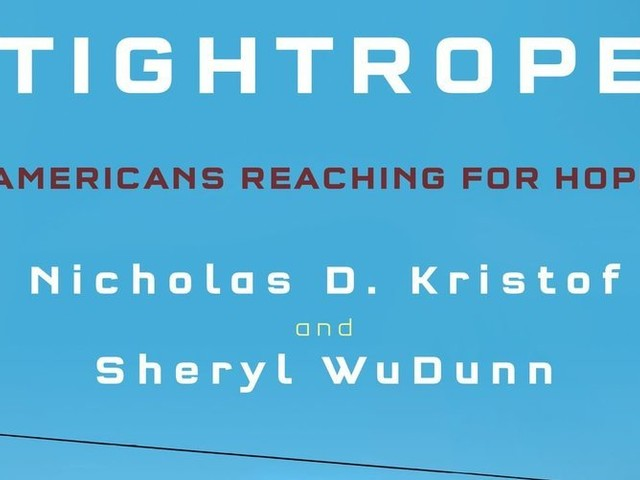 In 'Tightrope,' Pulitzer-winning writers examine the woes of the U.S. working class in their hometown