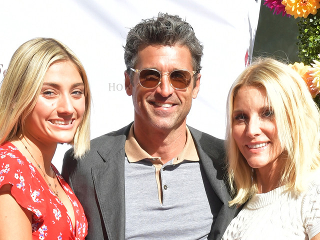 Patrick Dempsey is Joined by Wife Jillian & Daughter Tallulah at American Cancer Society Benefit Event!