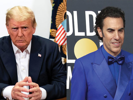 Sacha Baron Cohen Claps Back At Donald Trump's Comments About 'Borat': 'You're A Racist Buffoon'