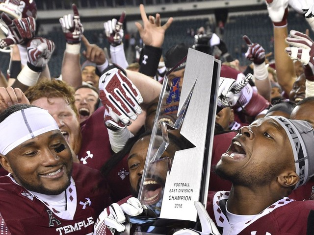 Temple might win 'only' 7-8 games this year, and that's disappointing? Times have changed