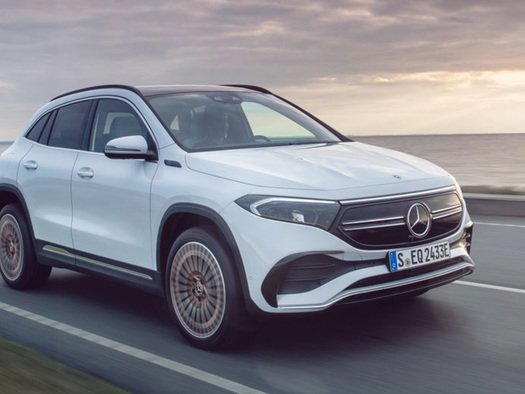 Mercedes Unveils Electric SUV In EV Race Against Tesla, VW
