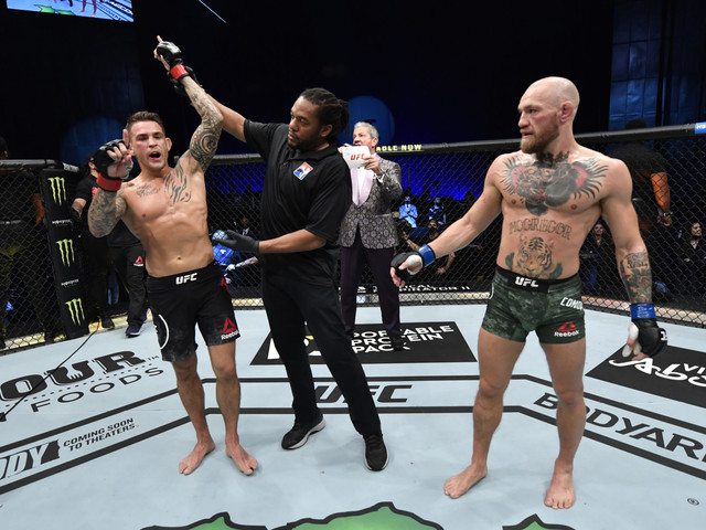 Dustin Poirier Enjoying the 'Target on His Back' After a Significant Win Over Conor McGregor at UFC 257