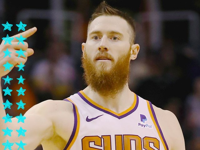 How Aron Baynes went from role player to star for the Suns