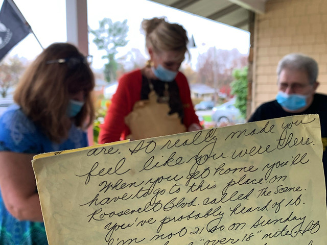 Army Veteran meets his pen pals 50 years later