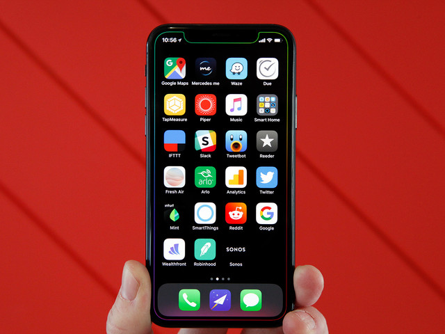 The perfect way to show off the notch on your iPhone X