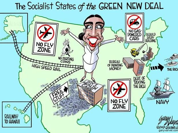 Understanding Why The Green New Deal Won't Really Work