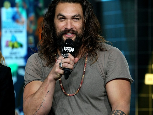 Jason Momoa is hot & goofy, but he also rips out pages in other people's books