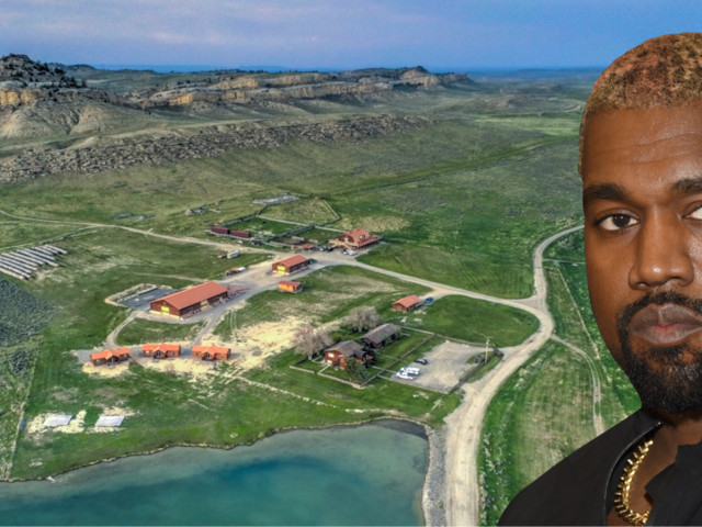 Kanye West just bought a $14 million Wyoming ranch. Take a look at the massive property that comes with a saloon, an events venue, and a shooting range.