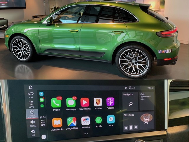 Hands-On With Wireless CarPlay on the Porsche Macan S
