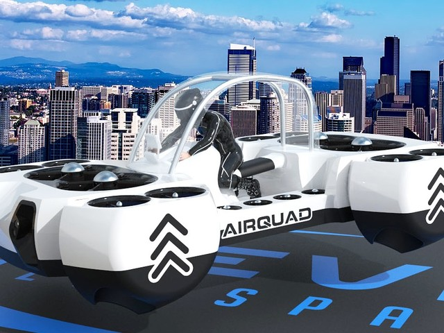 Neva's AirQuadOne Is Your New Best Bet for a Flying Car