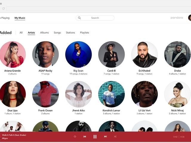Pandora Premium Arrives For The Web