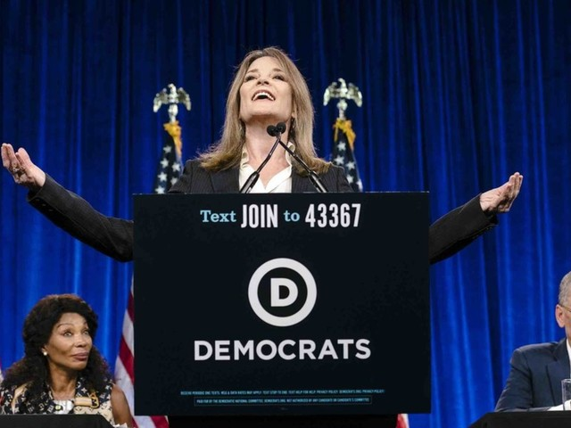 Dem. presidential candidate Marianne Williamson offers plan to deal with US 'gun crisis': It includes banning bullets and creating a Dept. of Peace