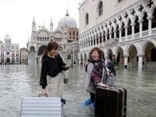 AP PHOTOS: Flooding threatens Venice and its treasures