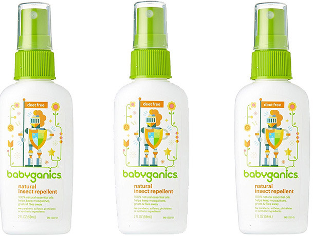 $2.78 Babyganics Natural Insect Repellent + FREE Shipping